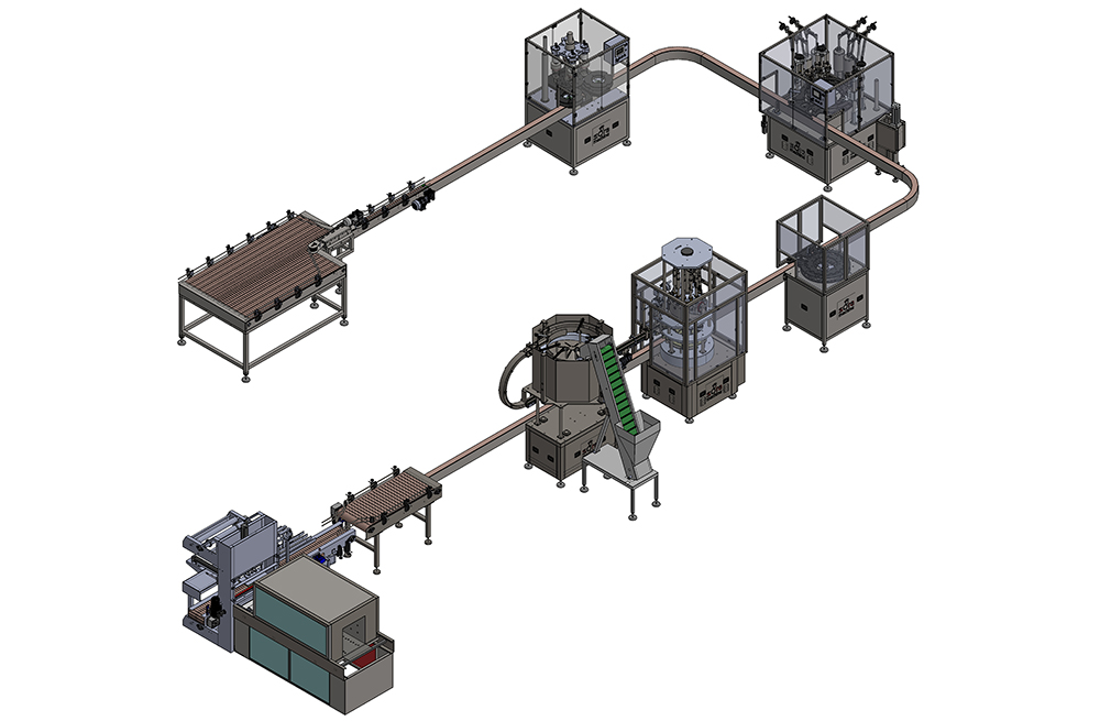 BAG ON VALVE FILLING LINE 1